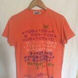 Классная футболка,хлопок от бренда topman