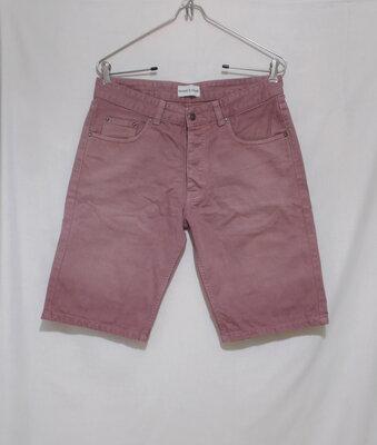 Шорты джинсовые бургунди делаве W31 'Samsoe Samsoe'