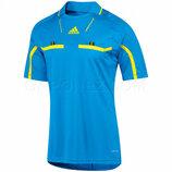 р.46-48 спортивная футболка Adidas Ref Jsy SS красная голубая желтая
