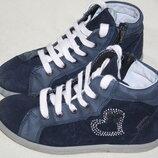 Демисезонные ботинки- кеды Ricosta замша