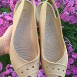 Босоножки Crocs оригинал w 8 40 комфортные кроксы