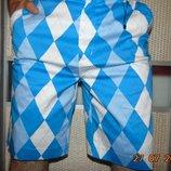 Новие стильние фирменние шорти капри ромби бренд .Royal & Awesime.л