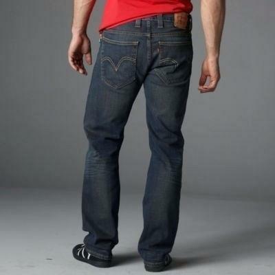 Levi's,оригинал denim синие мужские джинсы 506 standart 30/32