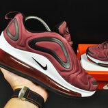 Кроссовки женские Nike Air Max 720 бордовые