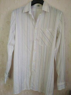 Мужская рубашка хлопок, р.50/XL, ворот 41