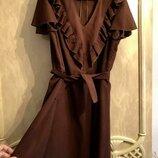 Очень красивое платье натуральный шелк ххл