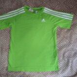 Футболка Adidas climalite cotton 10 лет рост 140 оригинал