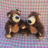Игрушка мягкая мишка медведь из мф Маша и медведь, рост 24см
