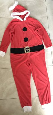 Санта кигуруми 44-46 слип пижама человечек