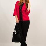 Костюм женский блуза брюки от бренда Adele Leroy.