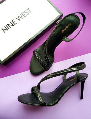 Черные босоножки шпилька бренд Nine West р. 41