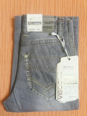 Бриджи мужские/подросток коттон-джинс.