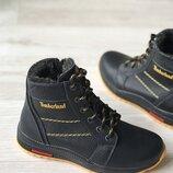 Акция Кожаные зимние ботинки детские timberlаnd