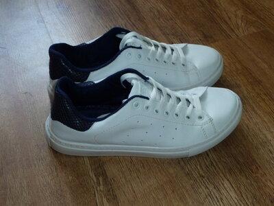 Белые кроссовки LC Waikiki, р 40, UK 6.5, стелька 25,5 см