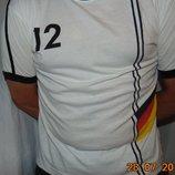 Спортивная фирменная катоновая футболка зб Германии Tempo.л .