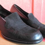 Туфли Габор черные р. 38 стелька 25 см каблук 5 см