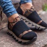 Женские кроссовки нат.кожа с 36 по 41 размеры