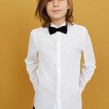 11лет.Нарядная белая рубашка TU.mега выбор обуви и одежды