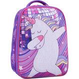 Рюкзак школьный ранец Bagland Turtle 17 л. 0013466 портфель для девочки с единорогом единорог