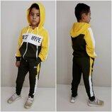 Спортивный костюм для мальчика - 5 расцветок рост 122-152см