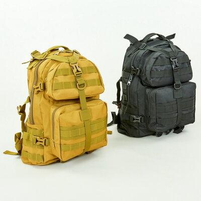 Рюкзак тактический штурмовой Silver Knight 046 объем 30л, размер 44х32х21см 3 цвета