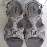 женские сандалии босоножки Clarks р. 37 4 стелька 24 см