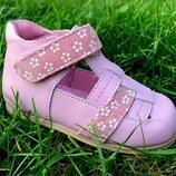 Кожаные ортопедические туфли Фламинго