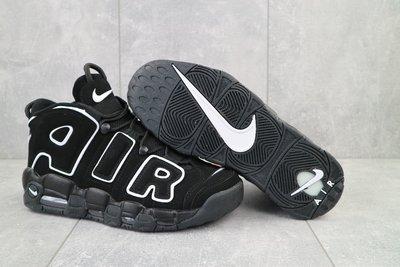 Кроссовки Nike Air More Uptempo 96, мужские, черные