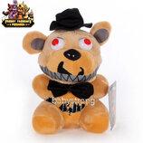 Мягкая плюшевая игрушка 5 пять ночей с Фредди - Кошмарный Фредди 15 См Аниматроники. Фнаф Фреди