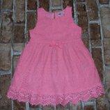 платье нарядное кружево 1-2 года Нм сток большой выбор одежды 1-16лет