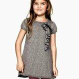 платье нарядное хлопок 1-2 года Нм сток большой выбор одежды 1-16лет