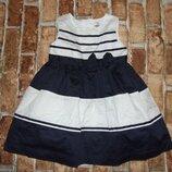 платье нарядное пышное 2 года Cartes сток большой выбор одежды 1-16лет