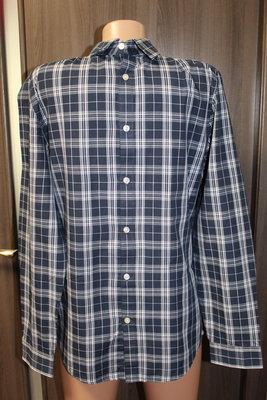 рубашка в клетку H&M в идеальном состоянии S