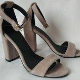 Viva лето женские стильные босоножки каблук 10 см кожа черные замшевые туфли Viva стиль
