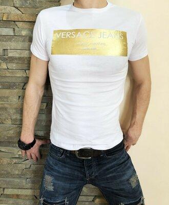 Футболка Versace jeans white