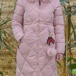Дуже тепле та модне зимове жіноче пальто пуховик Знижка -30%