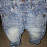 Моднин джинси Next 3-6 мес.