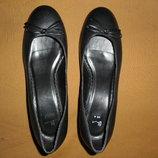 Туфли балетки женские натурал кожа,размер 36 23,5см от Bhs
