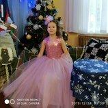 Пышные нарядные выпускные детские платья