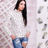 Женская рубашка хлопкова. Рубашка блузка. Жіноча рубашка. Рубашка с длинным рукавом. Деловой стиль