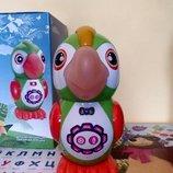 Попугай сказочник 7496 Умный попугай интерактивный