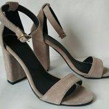 Viva лето женские стильные босоножки каблук 10 см кожа замша туфли Viva стиль