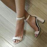 Viva лето женские стильные пудровые босоножки каблук 10 см натуральная кожа замша туфли Viva стиль