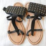 Кожаные сандалии босоножки Roberto Santi р.38 24 см