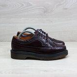 Кожаные женские туфли броги Dr. Martens оригинал, размер 36