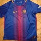 Спортивная футбольная фирменная футболка nike ф.к Барселона .6-8 лет .