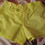 легкі жовті міні шортики Kalamton С нові бірки