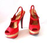Яркие босоножки от бренда new look, р.38 код s3853