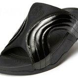 Шлепки вьетнамки унисекс FitFlop Freeway Sandals - Black Patent оригинал