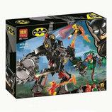 Конструктор Bela 11234 Робот Бэтмена против робота Ядовитого Плюща Аналог Lego Super Heroes 76117